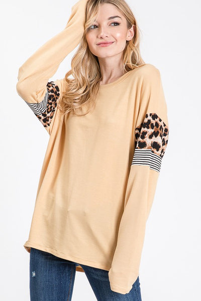 *NEW* Millie Long Sleeve Top ~ Mustard - ShopBeYouBoutique