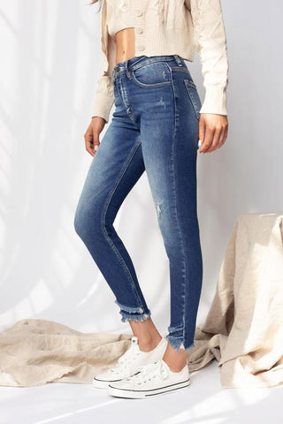 Kancan Mercy High Rise Ankle Skinny Jeans