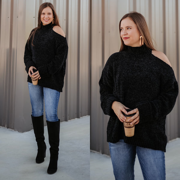 Vera One Cold Shoulder Sweater