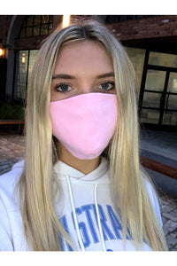 Pink Face Mask (Ships 7-14 day)