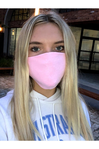 Pink Face Mask **SPECIAL FINAL SALE**
