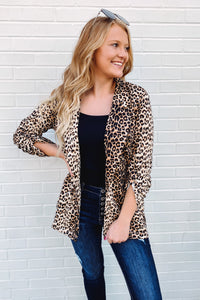 {Last Chance} Kamila Leopard Blazer **FINAL SALE**