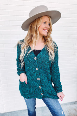 Rosemary Popcorn Button Down Cardigan **AMAZING DEAL ~ FINAL SALE**