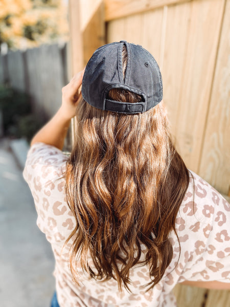 Brunette Ponytail Caps