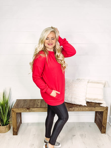 *NEW* Holly Round Neck Long Sleeve Sweatshirt **AMAZING DEAL ~ FINAL SALE**