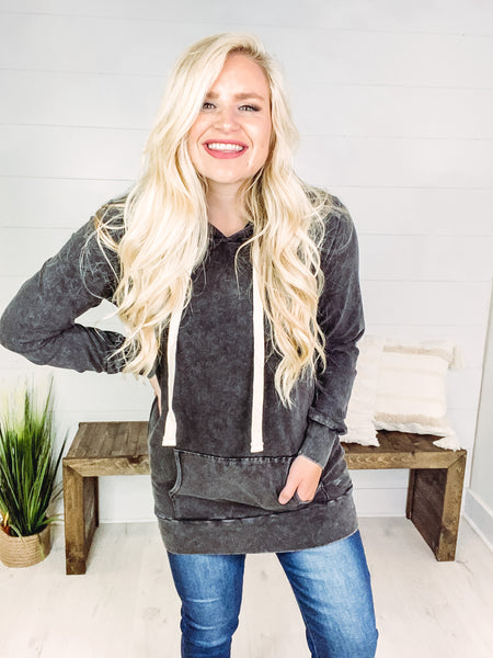 Rowan Mineral Wash Hoodie **AMAZING DEAL ~ FINAL SALE**
