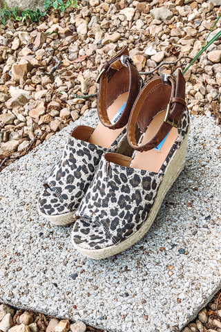 *NEW* Not Rated Leif Wedges ~ Leopard
