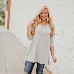 *NEW* Valerie V Neck Tunic ~ H. Gray