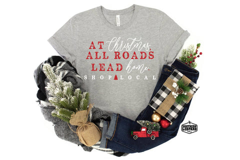 *DOOR BUSTER* Shop Local Christmas Tee