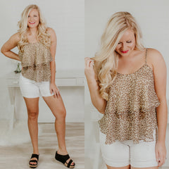 *NEW* Take Me With You Cami Top ~ Leopard