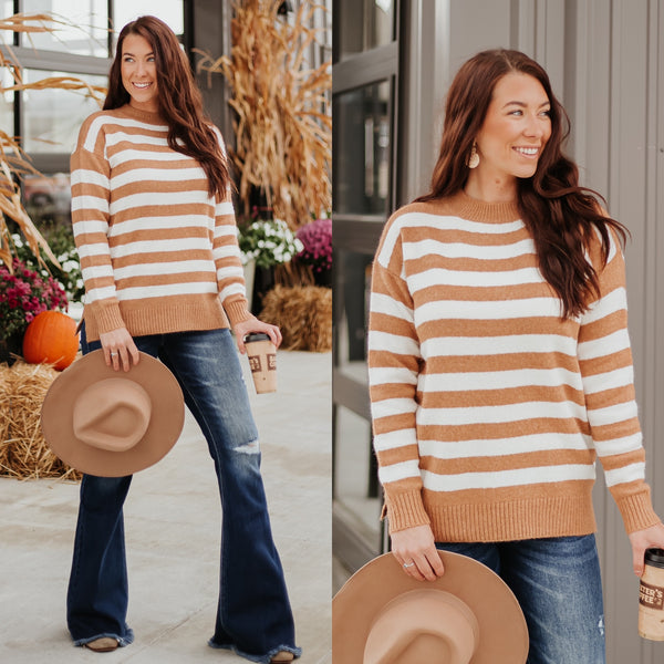 *NEW* Nylah Striped Sweater