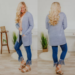 *NEW* Oh My Sunshine Cardigan ~ Chambray