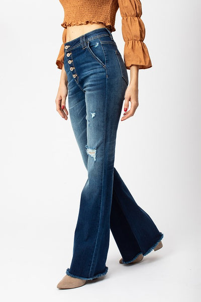 *New* Kancan Feelin' Good Flare Jeans