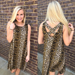 {Last Chance} Leopard Is My Vibe Dress ~ Leopard