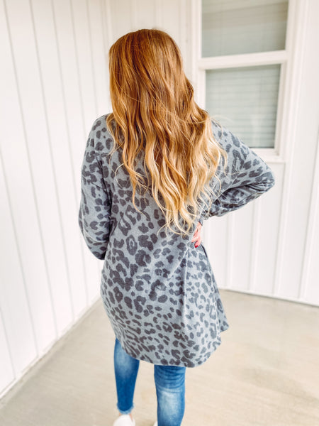*NEW* Caroline Animal Print Cardigan