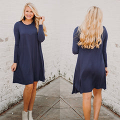 PIKO Easy Goes It Dress/ Tunic ~ Navy