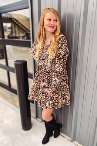 Everleigh Animal Print Dress