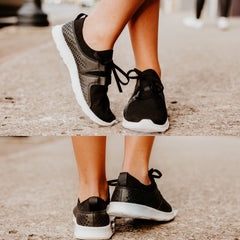 {Last Chance} Marie Slip On Sneaker by Not Rated ~ Black