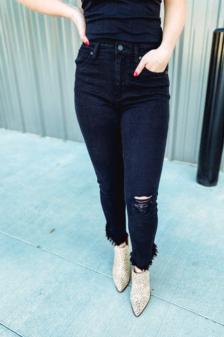 {Last Chance} Kancan Erika High Rise Ankle Skinny *FINAL SALE*