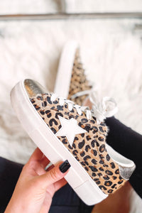 *NEW* Gold Star Animal Print Sneaker