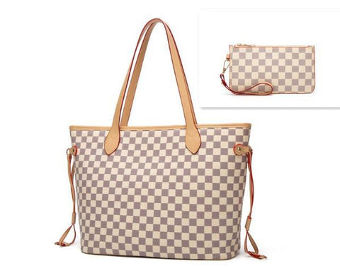 *New* Harley Checkered Oversized On The Go Tote
