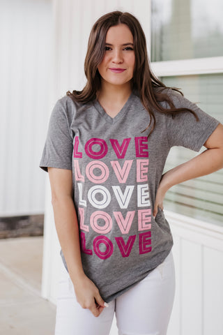 *NEW* Love Love Love Graphic Tee