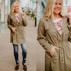 Cool Nights Jacket ~ Olive