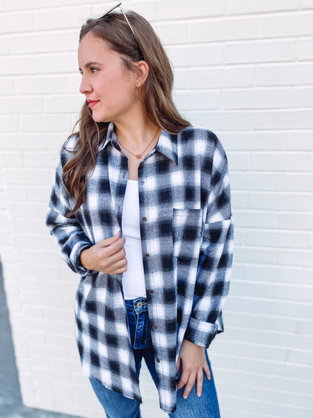 Hope Plaid Flannel