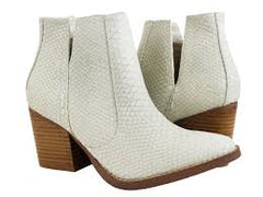 *NEW* Not Rated Tarim Ankle Boots ~ Cream
