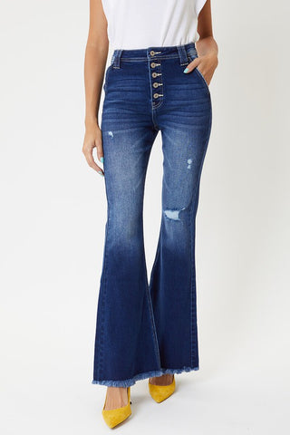 *NEW* Kancan Carter High Rise Flares