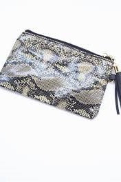 Caroline Hill Morganton Animal Print Pouch