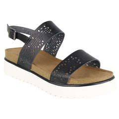 *NEW* Not Rated Anatalia Platform Sandals ~ Black