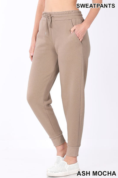 *NEW* Holly Elastic Waist Joggers with Pockets **AMAZING DEAL ~ FINAL SALE**
