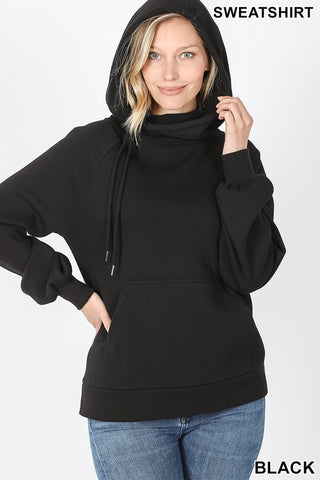 *DOORBUSTER* Sienna Side Tie Hoodie with Kangaroo Pocket **BLACK FRIDAY SPECIAL ~ FINAL SALE**