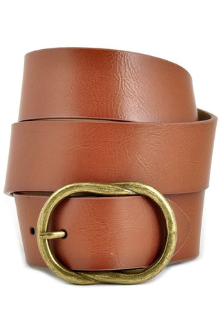 *New* Vinny Vintage Belt with Brass Buckle
