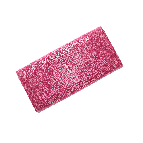 Mara hot pink stingray flat bottom