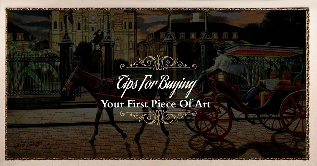 Tips For Buying Your First Piece Of Art