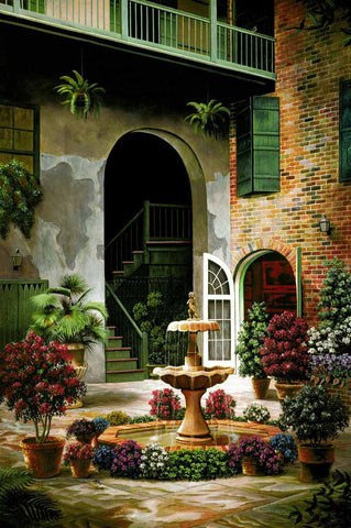 Courtyards Brad Thompson Fine Art