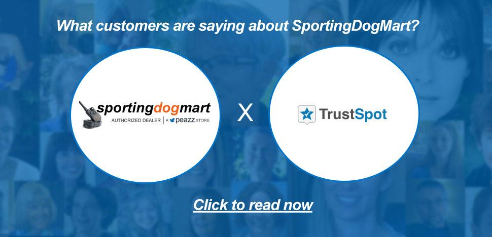 SportingDogMart Customer Testimonials via TrustSpot