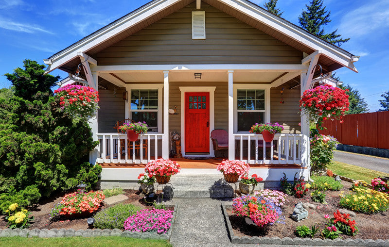 ... increase your curb appeal on a budget