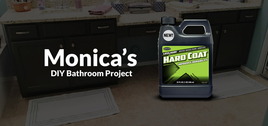 Monica's Do-It-Yourself, Ultra-Durable Bathroom Cabinets