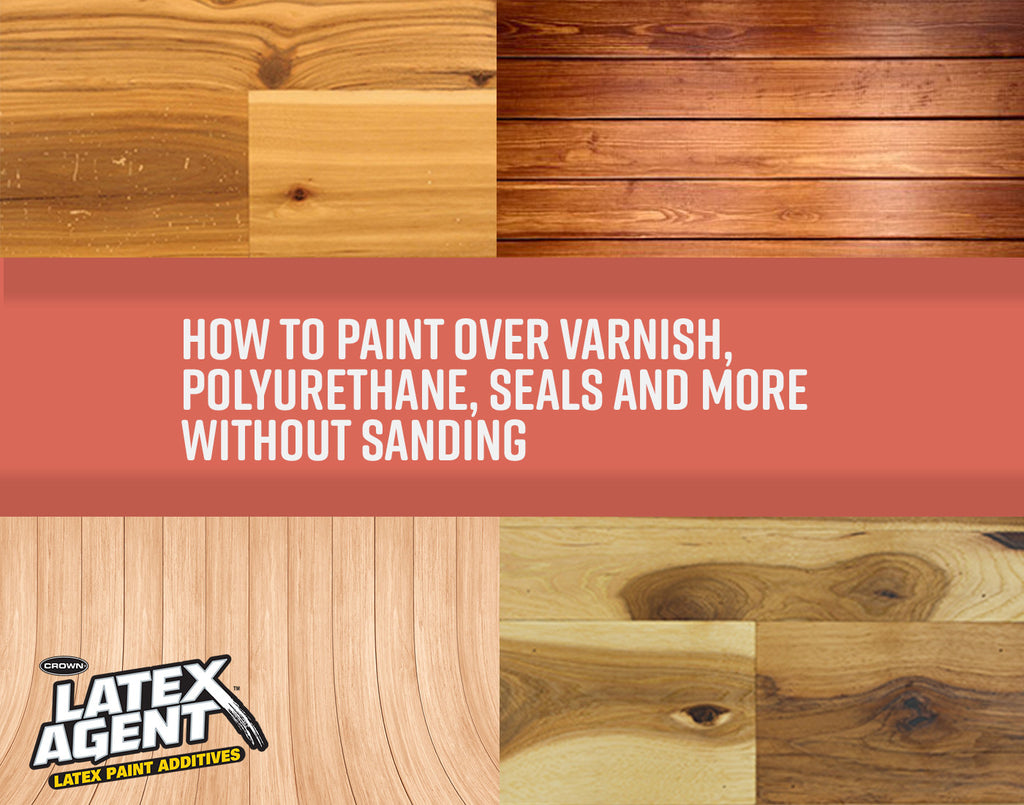 How to Paint over Varnish
