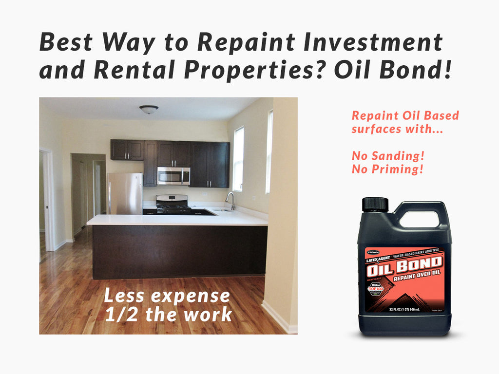 Investment Property Paint Made Easy With Oil Bond (Product Review)