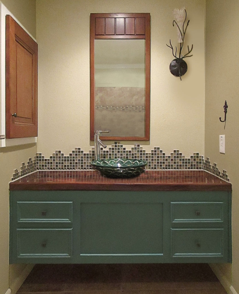 An Easy Upcycled Bathroom Project for Professional Painters