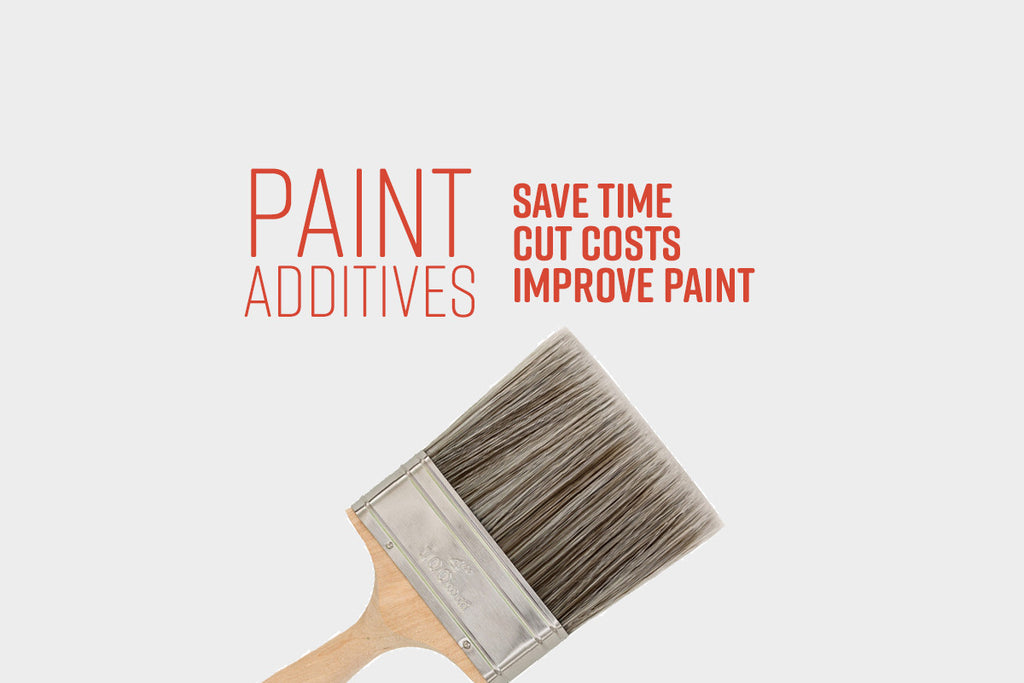 Paint Additives: Save Time, Cut Costs and Earn Wide Variety