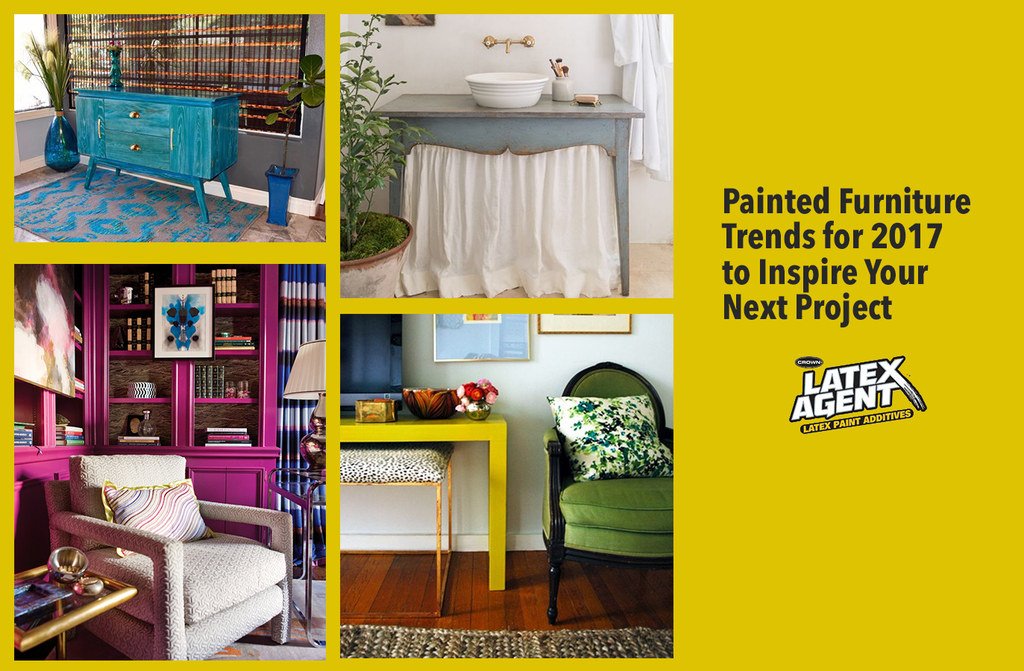 6 Painted Furniture Trends for 2017 to Inspire Your Next Project