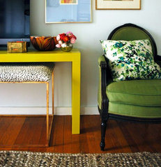 Hot Colors Painted Furniture