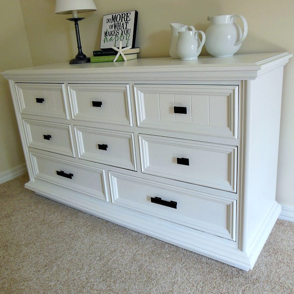 Paint Bedroom Dressers Without Sanding Using Oil Bond