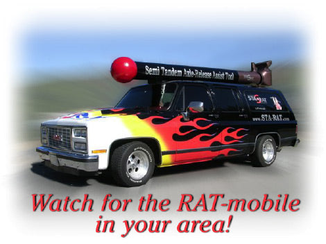Watch for the RAT-mobile in your area!