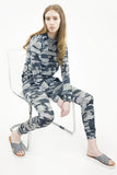 London Rebel | Camo Camouflage 2-piece Tracksuit Set | Lifestyle Image